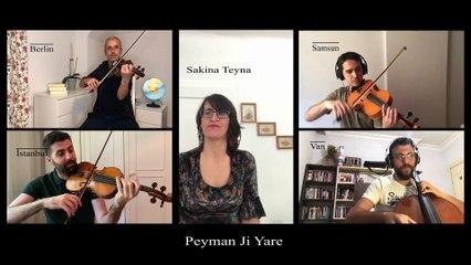 Anadolu Quartet & Sakina Teyna - Peyman Jî Yare