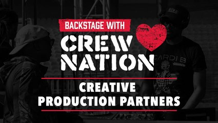 Backstage with Crew Nation: Creative Production Partners