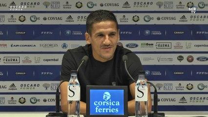 SC Bastia - US Boulogne CO : Conférence de presse d'avant-match de C. Ben Saada