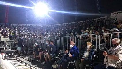 La foule semble soutenir massivement la triplette de Jean Michel Puccinelli