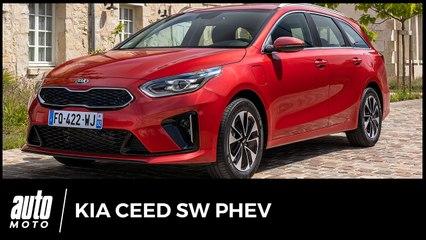 2020 Kia Ceed SW Hybride Rechargeable : Essai du break branché