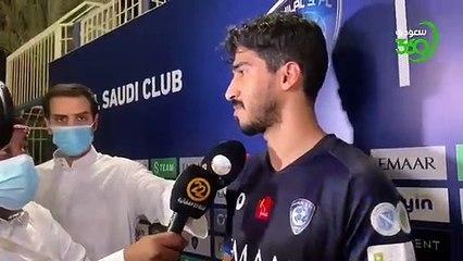 عبدالله الحافظ لسعودي 360 منذ بداية الموسم كان هدفنا تحقيق الدوري وكأس الملك وكأس آسيا