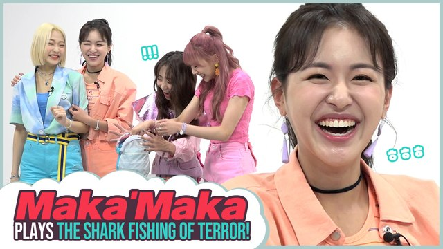 [Pops in Seoul] Burning Power~♬ Today's game♟ for Maka'Maka(마카마카) - 'Shark fishing of terror!!'