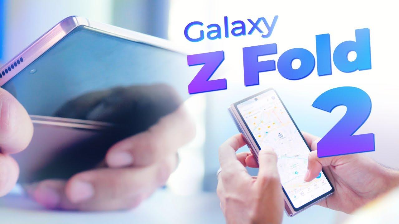Samsung Galaxy Z Fold 2 : la belle claque ⎮ Prise en main du smartphone pliant à 2020€