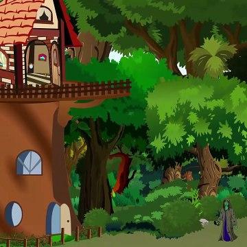 దేవత మంత్రగత్తె - Fairy And A Witch - Moral Story for Kids - Telugu Kartun