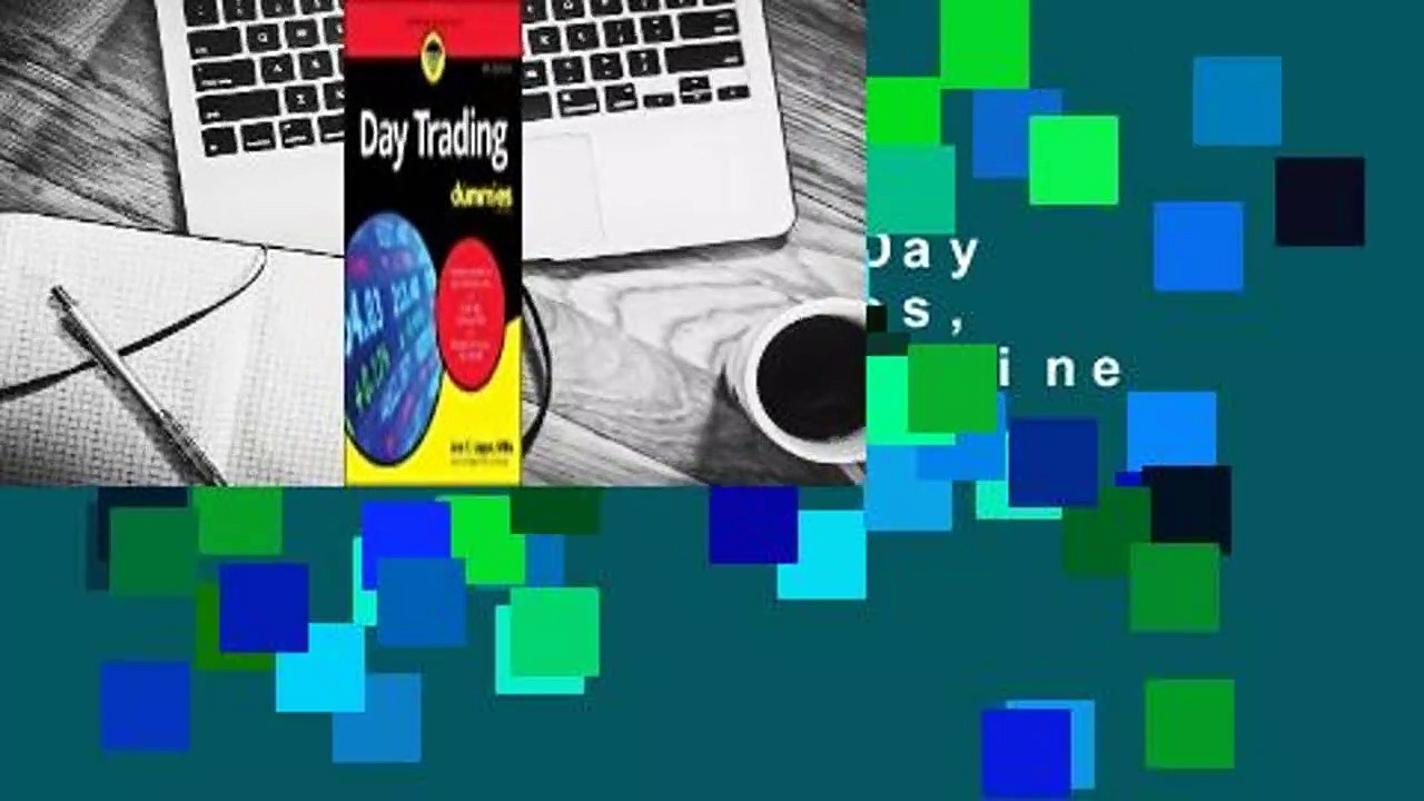 About For Books  Day Trading For Dummies, 4th Edition  For Online