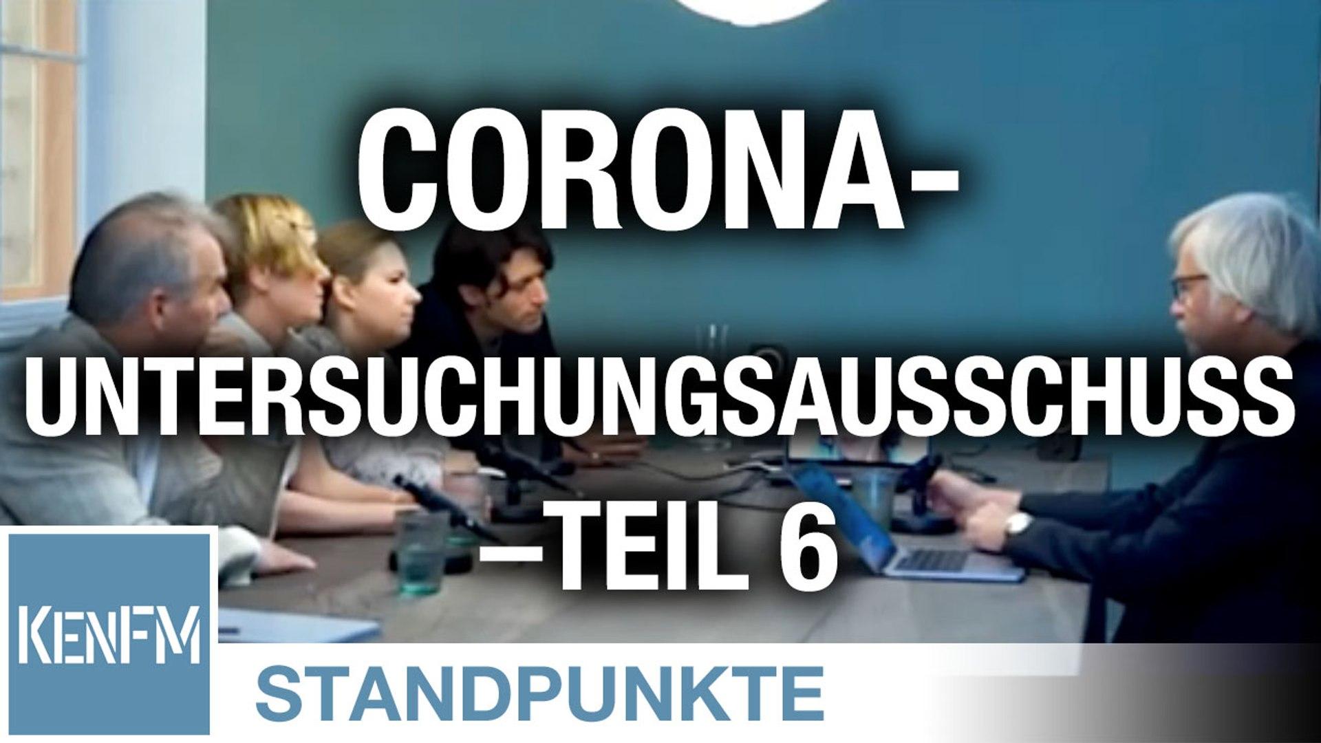 Corona-Untersuchungsausschuss – Teil 6 | Von Jochen Mitschka
