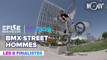 Top 8 BMX Street Pro Hommes | E-FISE Montpellier by Honor