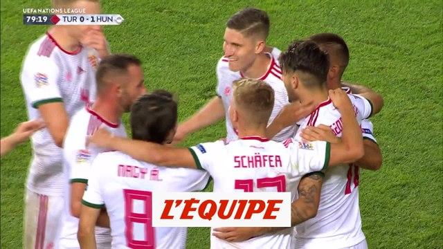 Le but de Turquie-Hongrie en vidéo - Foot - Ligue des nations
