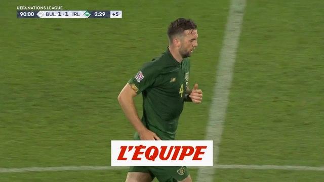 Les buts de Bulgarie-République d'Irlande en vidéo - Foot - Ligue des nations