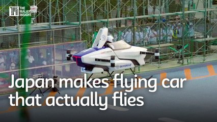 Japan makes flying car that actually flies, launching in 2023
