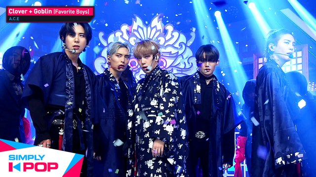 [Simply K-Pop] A.C.E(에이스) - Clover + Goblin(도깨비)(Favorite Boys) ★Simply's Spotlight★ _ Ep430