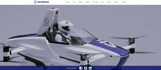 Japon : Réussite du premier test d'une voiture volante avec pilote