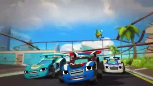 Blaze and the Monster Machines Season 2 Episode 18 Sky Track