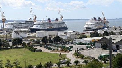 Pourquoi autant de paquebots en réparation à Brest ?