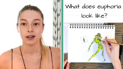 Euphoria's Hunter Schafer Draws Her Truck, Favorite Beauty Product, & More