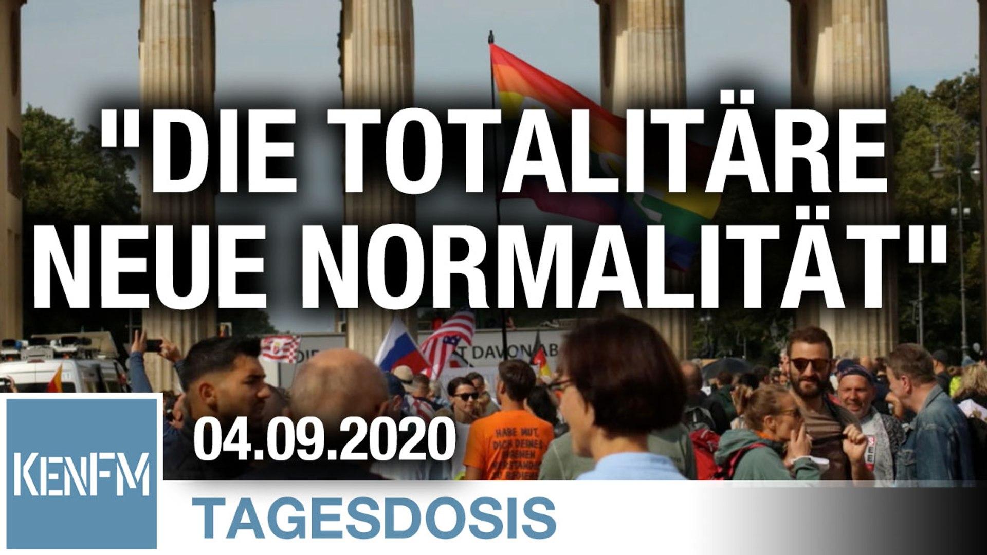 Die totalitäre Neue Normalität | Von Rainer Rupp