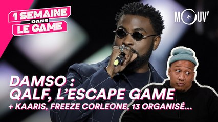 "Damso : ""QALF"", l'escape game..."
