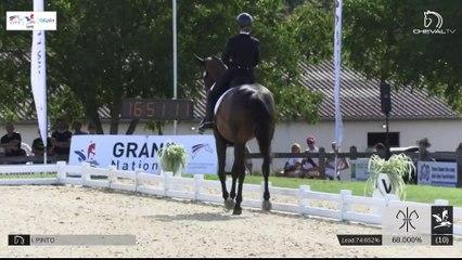 GN2020 | DR_03_Vierzon | Pro Elite Grand Prix - Grand National | Isabelle PINTO | HOT CHOCOLAT VD KWAPLAS*DE LA GESSE