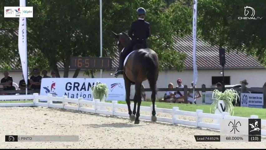 GN2020   DR_03_Vierzon   Pro Elite Grand Prix - Grand National   Isabelle PINTO   HOT CHOCOLAT VD KWAPLAS*DE LA GESSE