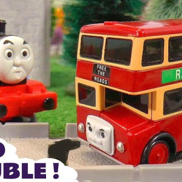 Thomas and Friends Bulgy the Red Bus Pranks Story with the Funny Funlings and Tom Moss in this Family Friendly Full Episode English Toy Story for Kids