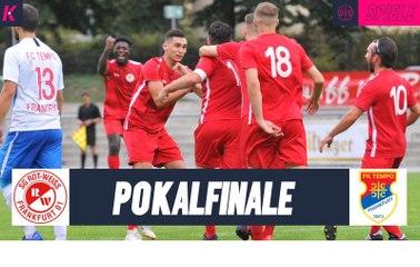 Der Titelverteidiger empfängt den Underdog: SG Rot-Weiss Frankfurt - FC Tempo Frankfurt (Finale, Pokal)