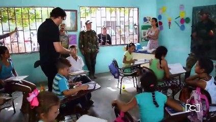 Así se grabó la explosión en un colegio de Méndez