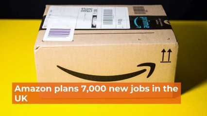 Amazon Expands In The UK