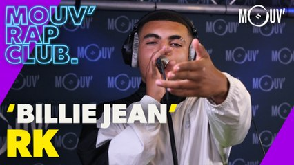 "RK : ""Billie Jean"" (Live @Mouv' Rap Club)"