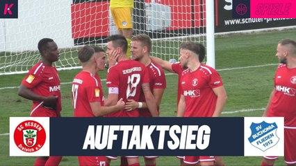 Perfekter Hessenliga-Start: Burggraf schießt Dreieich zum Auftaktsieg | SC Hessen Dreieich - SV Buchonia Flieden (Hessenliga)