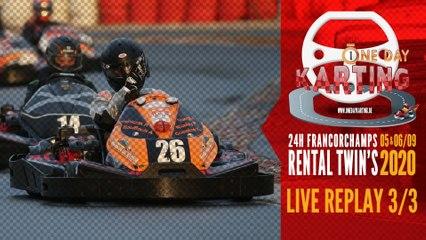 24H Karting Spa-Francorchamps 2020 [REPLAY 4/4]