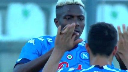 Osimhen s'offre un nouveau triplé avec Naples en amical
