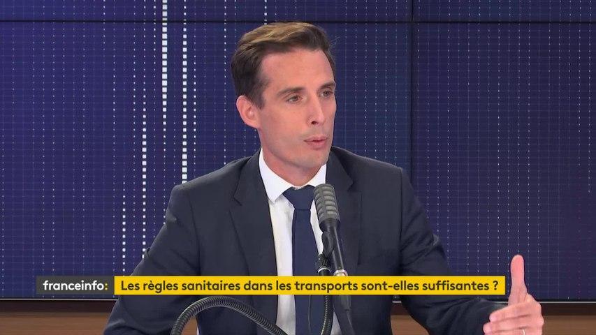 """Masques dans les transports, grève à la SNCF... le """"8h30 franceinfo"""" de Jean-Baptiste Djebarri"""