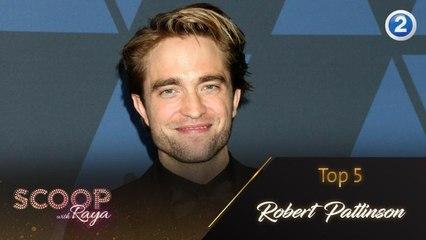 أجمل 5 مقابلات مع Robert Pattinson