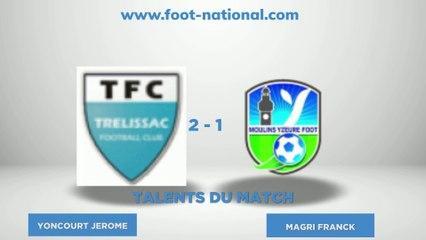TALENT FOOT NATIONAL - 4ème journée National 2 Groupe D