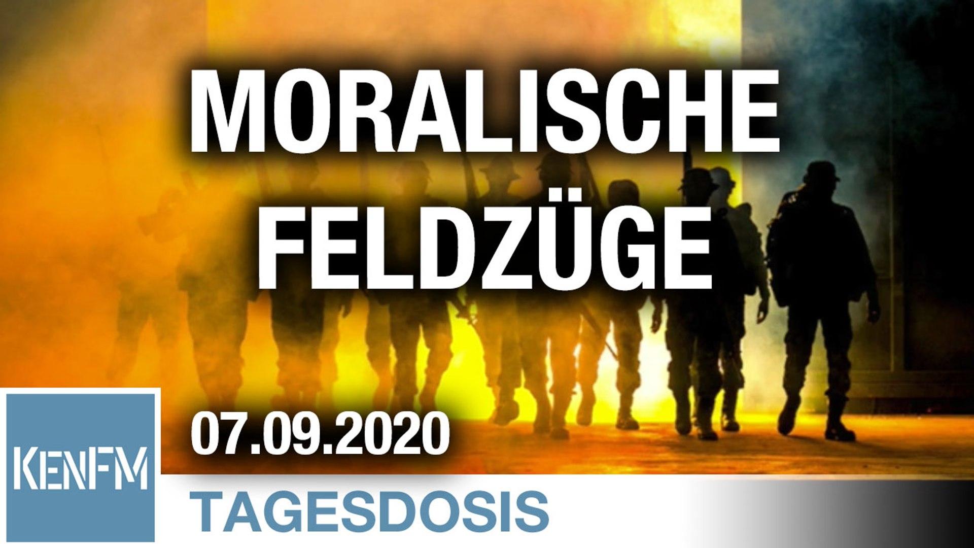 Moralische Feldzüge – Deckmantel der wahren Kriege | Von Peter Frey
