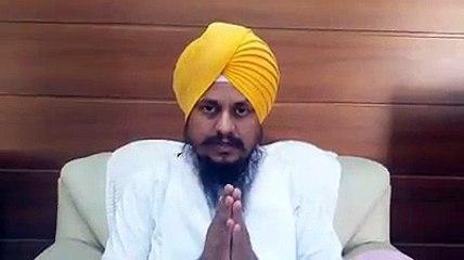 Jathedar Giani Harpreet Singh on Bhai Jaswant Singh Khalra