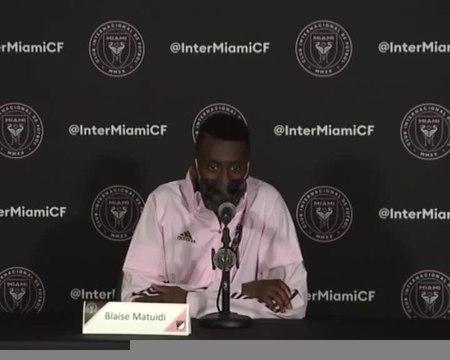 """Inter Miami - Matuidi : """"Etre vite à 100%"""""""