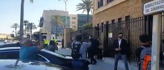 Marlaska huye de la policía