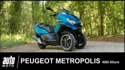 Peugeot Metropolis 400i Allure 2020 Essai POV Auto-Moto.com