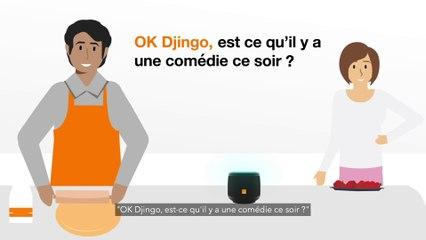 Comment utiliser le Speaker Djingo avec la TV d'Orange