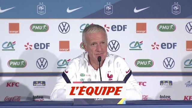 Deschamps : «Mbappé et Kimpembe peuvent jouer demain» - Foot - Bleus