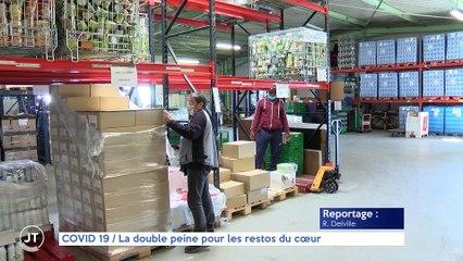 Le Journal - 20/09/07 - COVID-19 / La double peine pour les restos du coeur