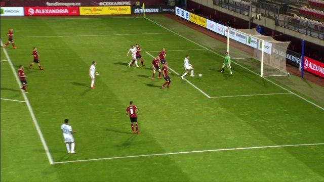 Les buts de République tchèque - Ecosse - Foot - Ligue des Nations