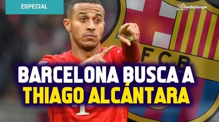 Thiago Alcántara frena fichaje al Liverpool; Barcelona lo busca