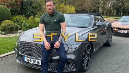 How many cars does UFC fighter Conor McGregor own – and which is his favourite?