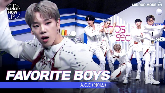[Pops in Seoul] Byeong-kwan's Dance How To! People's ideal type A.C.E(에이스)'s Favorite Boys(도깨비)!