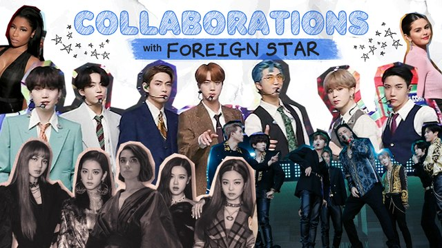 [Pops in Seoul] Collaborations With Foreign Stars [K-pop Dictionary]