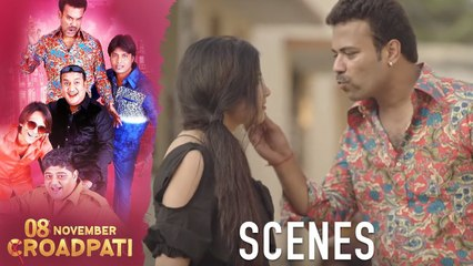 08 November Croadpati Movie Scenes | The robbers run into the Gullu dada gang | Silly Monks Deccan
