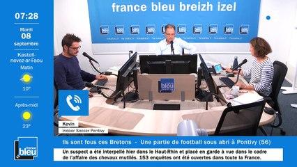 La matinale de France Bleu Breizh Izel du 08/09/2020
